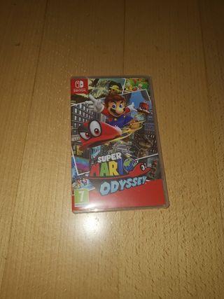 Vendo Mario Odyssey para la Nintendo Switch