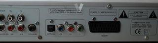 Reproductor DVD , CD , MP3, JPEG.