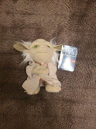 Muñeco peluche Yoda Star Wars Mini Yoda