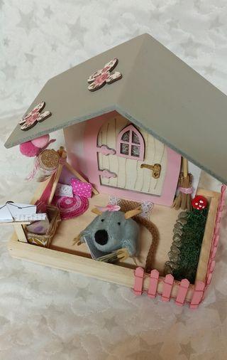 casita ratón Pérez