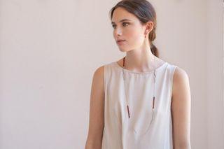 Collar Joidart plata+ Murano (PVP 130€).