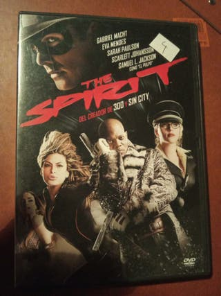 DVD pelicula The Spirit