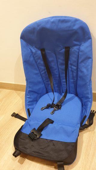 silla azul Royal Bugaboo camaleon 1 y 2