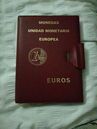 Álbum para monedas Euro Pronumas