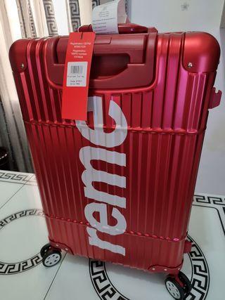 maleta de metal suprem oregina 100%