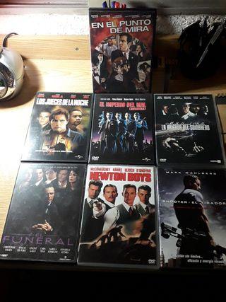 Pack de 7 películas en DVD