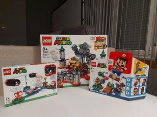 Lego Super Mario 71360, 71366 y 71369 - Nuevos