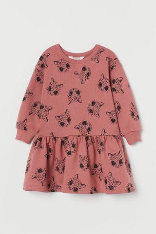 Vestido sudadera niña 6-8 años