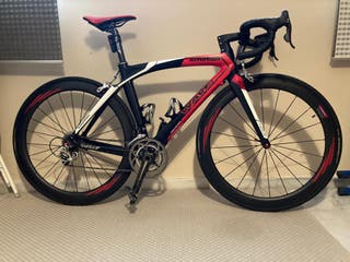 Bicicleta de carbono talla S