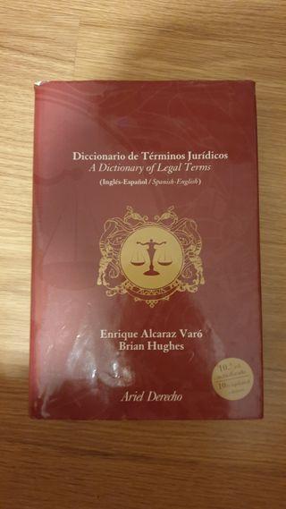 Diccionario términos jurídicos inglés español