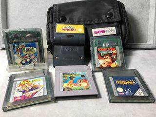 Pack 6 juegos Game Boy Color