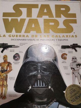 Diccionarios visuales de Star Wars.
