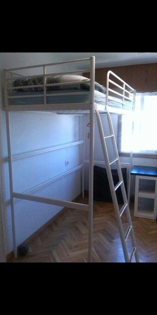 por mudanza liquido litera Ikea con colchón