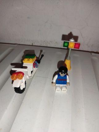 Lego motorista