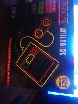 super mini sfc 621 game 8bit