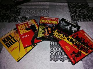 DVDs de películas de Tarantino