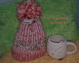 gorro pimkie + taza