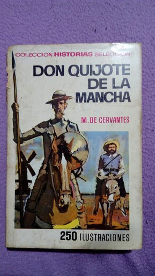Libro Don Quijote de la Mancha, Editorial Bruguera