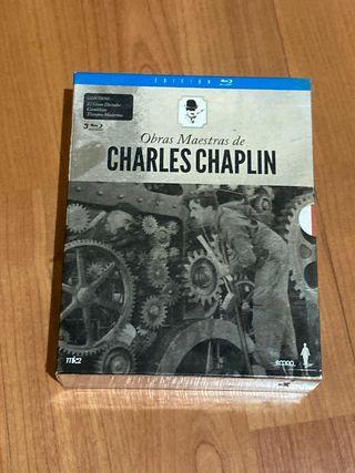 Blu-Ray lote Charles Chaplin