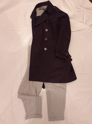 Gabardina Zara negra
