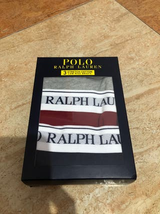 Pack de 3 slpis talla M. Polo Ralph Lauren