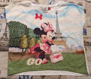Camiseta manga corta niña 3-4 años