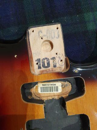 Cuerpo Fender Stratocaster Original