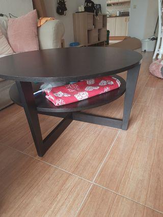 mesa ikea marrón bengue