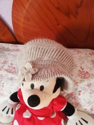 Gorra de lana.