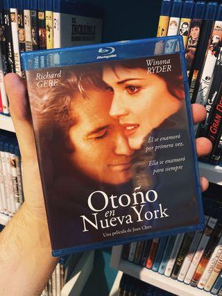 Otoño en Nueva York Bluray