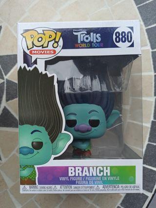 Funko pop Branch troll NUEVO