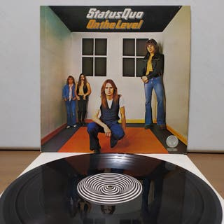 Status Quo - On The Level 1975 ND Gatefold