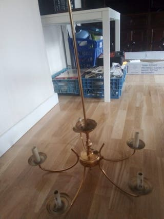 Lámpara de techo 5 brazos