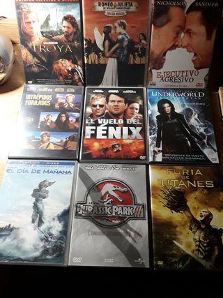 Pack de 9 películas en DVD