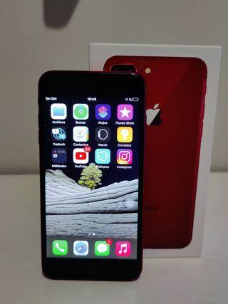 iPhone 8 Plus rojo 64 GB / Cambio por PS4 o Switch