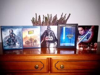 Saga Star Wars Blu-Ray Excepto Ryse of Skywalker
