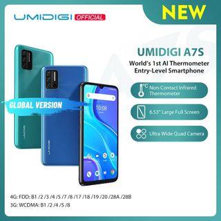 UMIDIGI A7S 6.63 pulgadas versión Global 32GBm