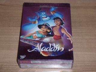 ALADDIN COLECCION 3 PELICULAS DVD
