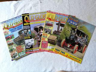Lote revistas OLD GLORY locomóvil vapor