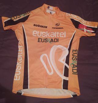 Equipación Ciclismo Euskaltel Maillot Y Culotte