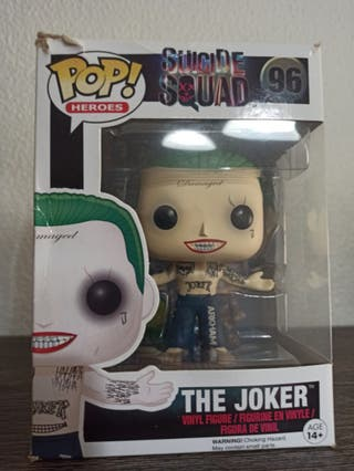 Funko pop Joker Escuadrón Suicida