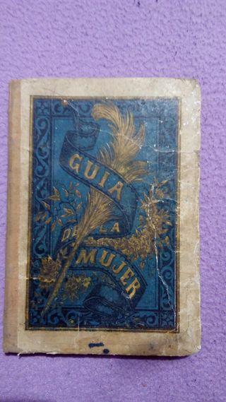 Libro antiguo Guía de la mujer, Edición 1893