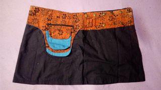 Falda ajustable, estilo Nepal, poco uso