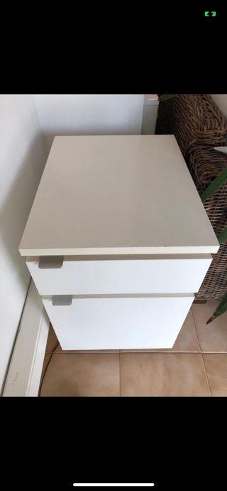 Cajonera Ikea blanca