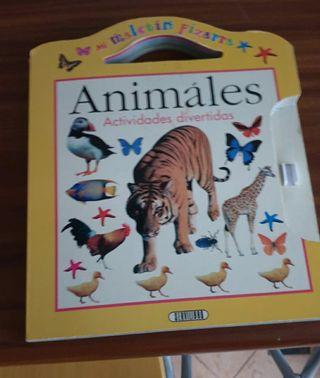 LIBRO PIZARRA, ANIMALES