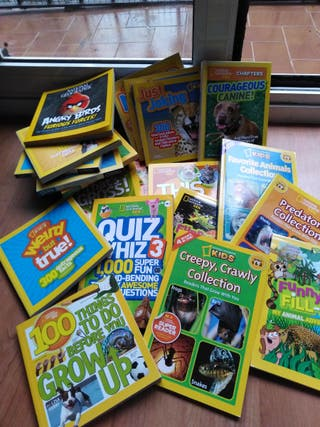 libros en inglés NG Kids