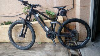 Bicicleta electrica de montaña talla s