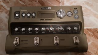 line 6 jm4 looper pedalera guitarra