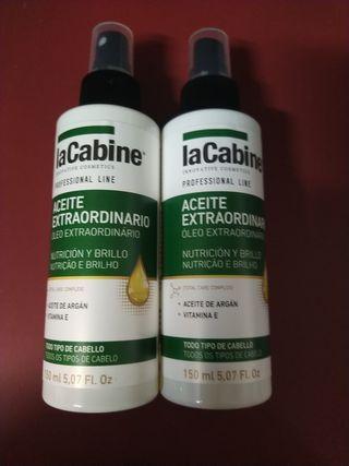 aceite extraordinario para el pelo