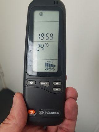 Mando aire acondicionado Johnson